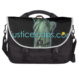 Justice Caps Justice Means Living Free Laptop Computer Bag