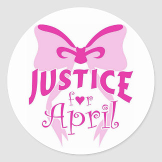 JUSTICE FOR APRIL STICKER