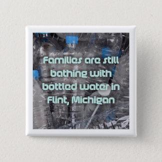 Justice for Flint 15 Cm Square Badge