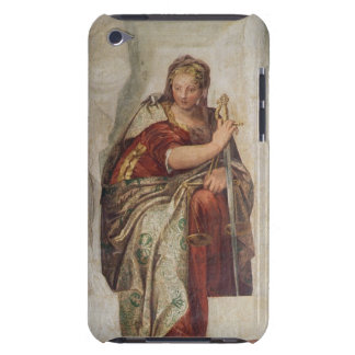Justice, from the walls of the sacristy (fresco) Case-Mate iPod touch case