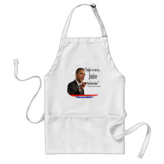 Justice has been done aprons