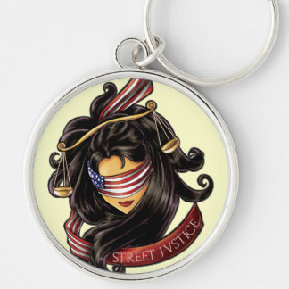 Justice Is Blind by Street Justice Keychains