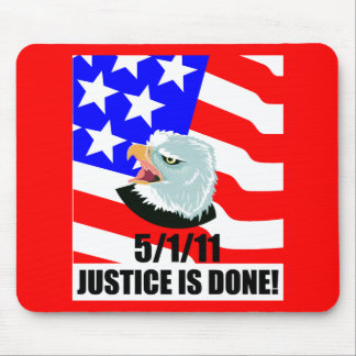 Justice is done mouse pad