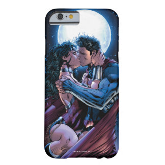 Justice League #12 Wonder Woman & Superman Kiss Barely There iPhone 6 Case