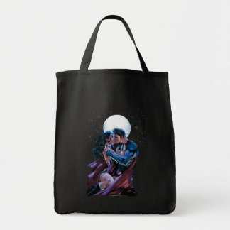 Justice League #12 Wonder Woman & Superman Kiss Tote Bag
