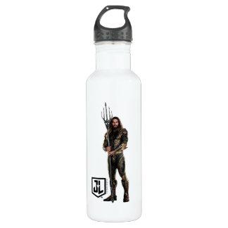 Justice League   Aquaman On Battlefield 710 Ml Water Bottle
