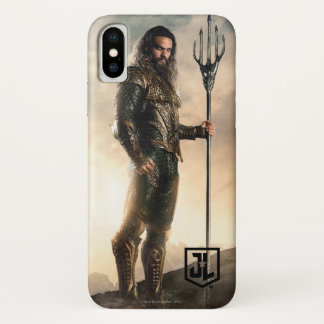 Justice League | Aquaman On Battlefield iPhone X Case