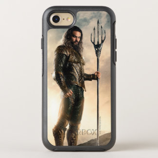 Justice League | Aquaman On Battlefield OtterBox Symmetry iPhone 8/7 Case