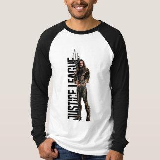 Justice League | Aquaman On Battlefield T-Shirt