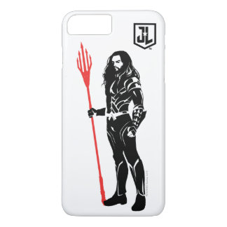 Justice League | Aquaman Pose Noir Pop Art iPhone 8 Plus/7 Plus Case