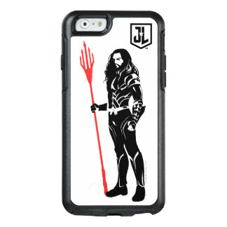 Justice League | Aquaman Pose Noir Pop Art OtterBox iPhone 6/6s Case