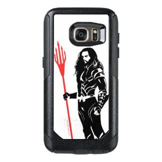 Justice League | Aquaman Pose Noir Pop Art OtterBox Samsung Galaxy S7 Case