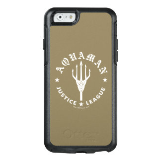 Justice League | Aquaman Retro Trident Emblem OtterBox iPhone 6/6s Case