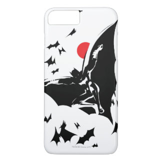 Justice League | Batman in Cloud of Bats Pop Art iPhone 8 Plus/7 Plus Case