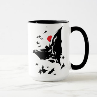 Justice League | Batman in Cloud of Bats Pop Art Mug