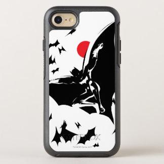 Justice League | Batman in Cloud of Bats Pop Art OtterBox Symmetry iPhone 8/7 Case