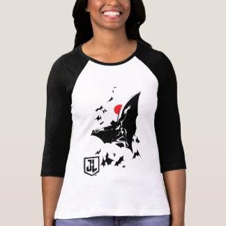 Justice League | Batman in Cloud of Bats Pop Art T-Shirt