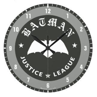 Justice League | Batman Retro Bat Emblem Large Clock