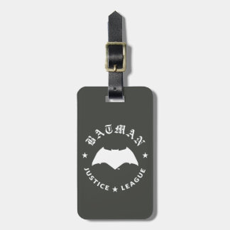 Justice League | Batman Retro Bat Emblem Luggage Tag