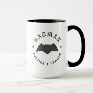 Justice League | Batman Retro Bat Emblem Mug
