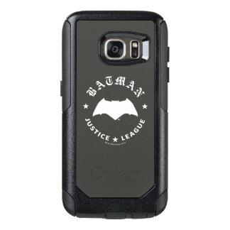 Justice League | Batman Retro Bat Emblem OtterBox Samsung Galaxy S7 Case