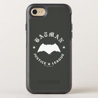 Justice League | Batman Retro Bat Emblem OtterBox Symmetry iPhone 8/7 Case