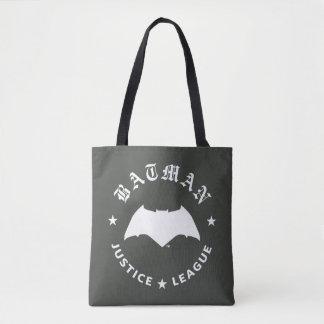 Justice League | Batman Retro Bat Emblem Tote Bag