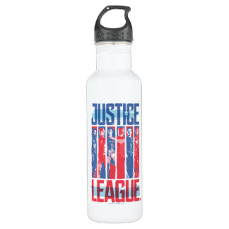 Justice League | Blue & Red Group Pop Art 710 Ml Water Bottle