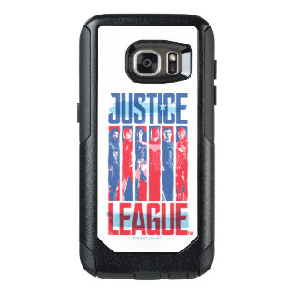 Justice League | Blue & Red Group Pop Art OtterBox Samsung Galaxy S7 Case