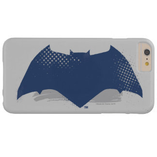 Justice League | Brush & Halftone Batman Symbol Barely There iPhone 6 Plus Case