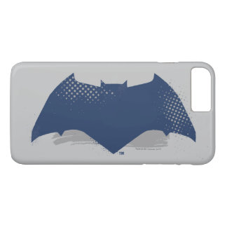 Justice League | Brush & Halftone Batman Symbol iPhone 8 Plus/7 Plus Case
