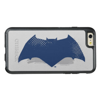 Justice League | Brush & Halftone Batman Symbol OtterBox iPhone 6/6s Plus Case