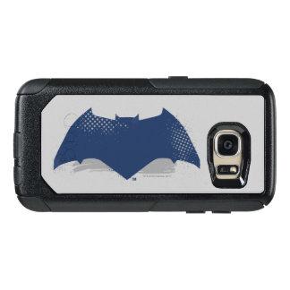 Justice League | Brush & Halftone Batman Symbol OtterBox Samsung Galaxy S7 Case