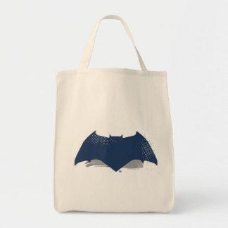 Justice League | Brush & Halftone Batman Symbol Tote Bag