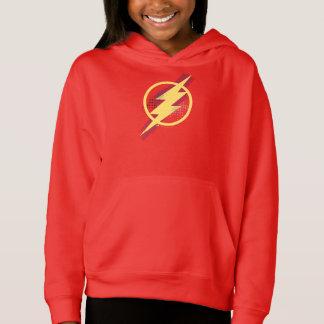 Justice League | Brush & Halftone Flash Symbol