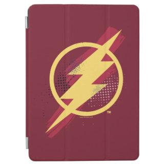 Justice League | Brush & Halftone Flash Symbol iPad Air Cover