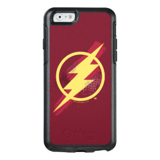 Justice League | Brush & Halftone Flash Symbol OtterBox iPhone 6/6s Case