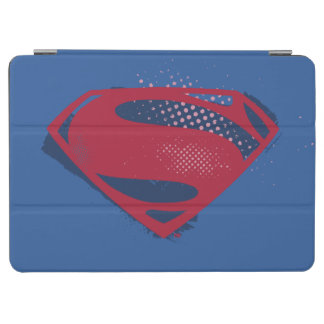 Justice League | Brush & Halftone Superman Symbol iPad Air Cover