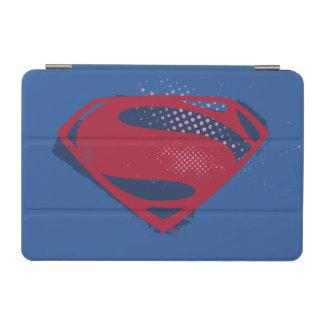 Justice League | Brush & Halftone Superman Symbol iPad Mini Cover