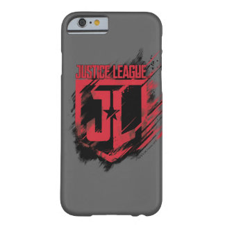 Justice League | Brushed Paint JL Shield Barely There iPhone 6 Case