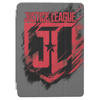 Justice League | Brushed Paint JL Shield iPad Air Cover