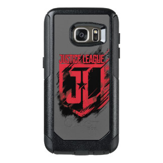 Justice League | Brushed Paint JL Shield OtterBox Samsung Galaxy S7 Case