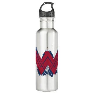 Justice League | Brushed Wonder Woman Symbol 710 Ml Water Bottle