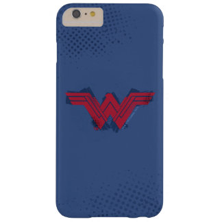 Justice League | Brushed Wonder Woman Symbol Barely There iPhone 6 Plus Case