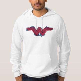 Justice League   Brushed Wonder Woman Symbol Hoodie