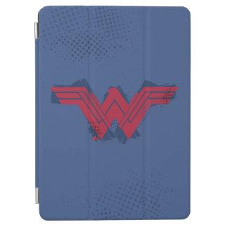Justice League | Brushed Wonder Woman Symbol iPad Air Cover