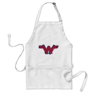 Justice League | Brushed Wonder Woman Symbol Standard Apron