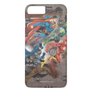 Justice League Collage iPhone 8 Plus/7 Plus Case