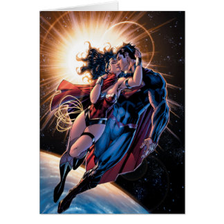 Justice League Comic Cover #12 Variant Card