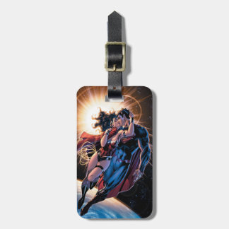 Justice League Comic Cover #12 Variant Luggage Tag